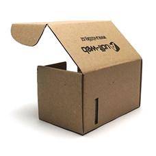 Originální papírová krabička na vizitky