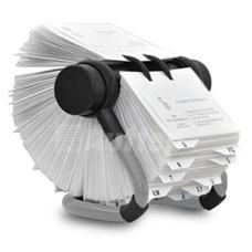 Rotační pořadač na vizitky AV-225 Rotacard ® - světle šedá barva