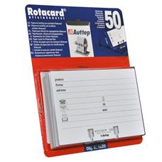 Náhradní náplň do vizitkářů ROTACARD ® - pozn. kartička 50 ks