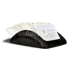 Lineární pořadač na vizitky BV-150 Rotacard ® - černá barva