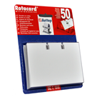 Náhradní náplň do vizitkářů ROTACARD ® - fóliová 50 ks