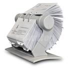 Rotační pořadač na vizitky RV-225 Rotacard ® - světle šedá barva